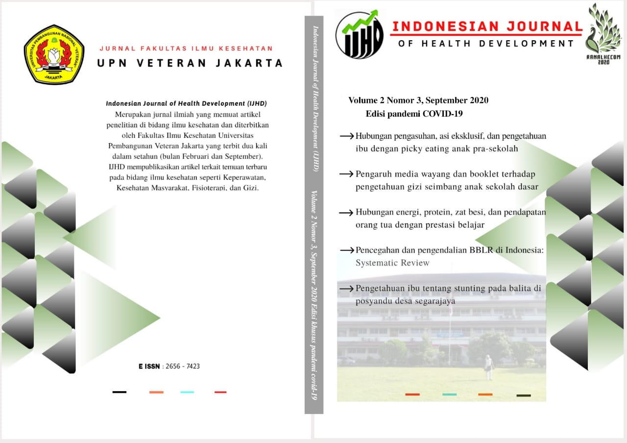 Indonesian Journal of Health Development : Special Edition